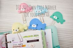 Happiness is Scrappy: Tutorial⎪DIY Your Own BookMark for Your Planner