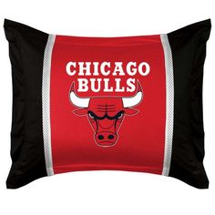 Chicago Bulls #NBA pillow sham