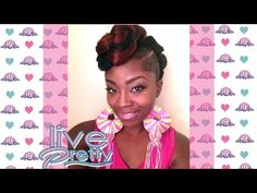 Surprising Tutorial Mohawk Faux Hawk Style With A Jumbo Braid Youtube Hairstyle Inspiration Daily Dogsangcom