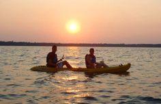Sunset Kayak Tour http://www.gravitytrails.com/Zip/door-county-sunset-kayak-tour/