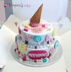 Candy cake!