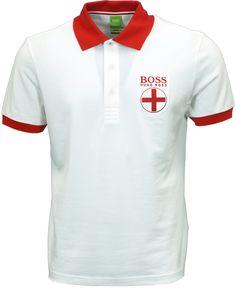 Boss Green England polo shirt