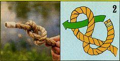 ロープの結び方02