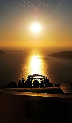 Santorini Sunset Wedding- ♔LadyLuxury♔