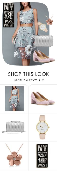 """""""dress"""" by masayuki4499 ❤ liked on Polyvore featuring Chloé, KOTUR, Kate Spade, Allurez and Home Decorators Collection"""