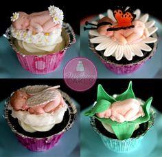 How I make my baby cupcakes @McGreevy Cakes!