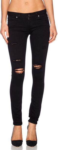 Paige Denim Paige Denim Verdugo Ultra Skinny---my favorite distressed skinny jean!