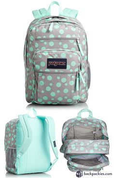 Jansport Big Student Classic Backpack - Cute backpacks for school - Learn more: https://backpackies.com/blog/7-cute-backpacks-for-college-and-where-to-buy-them/#jansport