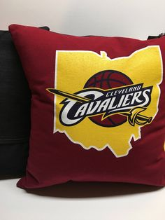 A personal favorite from my Etsy shop https://www.etsy.com/listing/521347992/cleveland-ohio-basketball-t-shirt-pillow