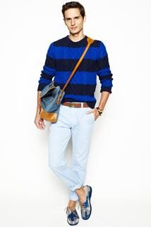 J.Crew Spring 2013 Menswear - Collection - Gallery - Look 1 - Style.com