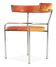 Gunnar Asplund 'GA-1' chrome plated chair, Källemo post 1988 (designed 1931)