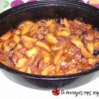Χταπόδι στη γάστρα με πατάτες Chili, Food And Drink, Soup, Meat, Chicken, Recipes, Recipe, Chile, Recipies