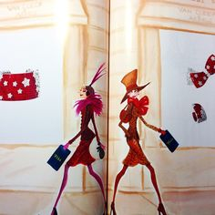 An Izak spread in @lofficielparis from 1997! There were many pages but I really enjoy these funky hats  #tbt #illustration #magazine #throwbackthuraday #paris #jewelry #izakzenou #izaksmuse #lolasworld #vancleefarpels #fashion #fashionillustration
