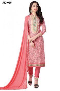 INQUIRY WHATSAPP /  Call- 91 9624913609 Exuberant Peach Color Un Stitched Cotton Office Wear Salwar Kameez http://www.justkartit.com/exuberant-peach-color-un-stitched-cotton-office-wear-salwar-kameez-jk4020?utm_source=dlvr.it&utm_medium=facebook&utm_campaign=justkartit #Diwali