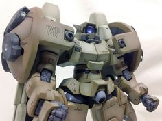 GUNDAM GUY: 1/100 Virgo II [Gundam Wing] - Modeled by Vegeta8259