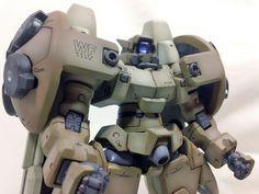 GUNDAM GUY: 1/100 Virgo II [Gundam Wing] - Modeled by Vegeta8259