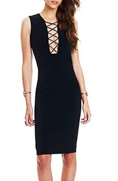 Romastory Women's Summer Sleeveless Bodycon Stretch Evening Club Bandage Dresses - http://darrenblogs.com/2016/04/romastory-womens-summer-sleeveless-bodycon-stretch-evening-club-bandage-dresses/