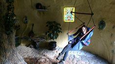 Magic Underground Hobbit Hole, located at the Maitreya Mountain Ecovillage in Northern California