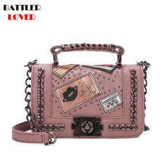 7cffabb8d36 Barato Bolsas de luxo Mulheres Sacos De Designer Flap Bolsa Das Mulheres Da  Marca Sacos de
