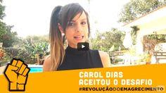 Treino das Famosas: Carol Dias no Desafio dos 5 minutos