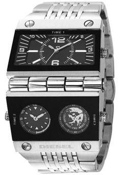 cool diesel watch...a mans best friend :p