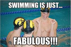 What competitive swimming is ACTUALLY like
