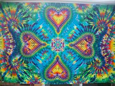 Batik and Tie Dye Tapestries