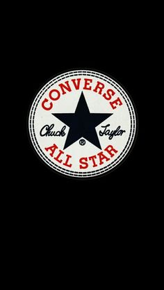 #converse #black #wallpaper