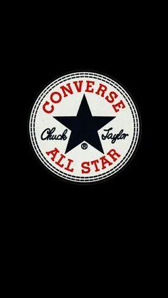 a40743ec84d7  converse  black  wallpaper  iPhone  android Converse Logo