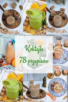 Koktajle Smoothies, Cereal, Health Fitness, Food And Drink, Breakfast, Healthy, Smoothie, Morning Coffee, Health