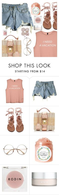 """""""Sorry I left polyvore for a bit needed a vacation"""" by floralandmay ❤ liked on Polyvore featuring Mark Cross, Rodin and RMK"""