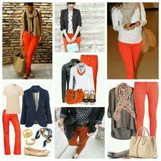 Orange pants / pantalon naranja