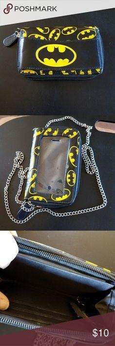 Selling this Smart phone Batman wallet on Poshmark! My username is: shelbycx3. #shopmycloset #poshmark #fashion #shopping #style #forsale #Batman #Handbags