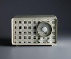 Braun Radio by designer Dieter Rams- 60's