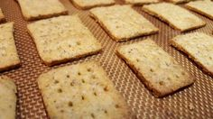 Vegan Whole Wheat-Flax/Chia Seed Crackers--Vegan Recipes for Vegans and Vegetarians: The Blooming Platter in Virginia Beach, VA