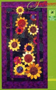 Nancy Davis Murty  Sunflowers Quilt Pattern | Applique Quilt Pattern | Bee Creative ...