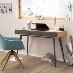 Schreibtisch Danica online kaufen bei Home24 und viele Vorteile sichern: Große Auswahl, günstige Preise, 0 CHF Versand Home Office, Office Desk, Smoke Bomb Photography, Desk Shelves, Study Desk, White Desks, Mini, Living Room, Studio