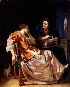 Frans van Mieris - De liefdesbrief