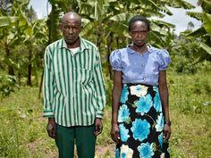 "manufactoriel: ""Portraits of reconciliation, Rwanda, by Pieter Hugo. """