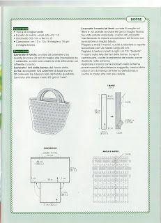 Schemi uncinetto   Raccolta di schemi di accessori da realizzare all'uncinetto, ci sono 15 lavori che spaziano dai bijoux alle borse, dai ...