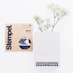 Team Mitglied @mojosanti teilt eine minimalistische Deko-Idee jetzt aufm #papierprojekt Blog.