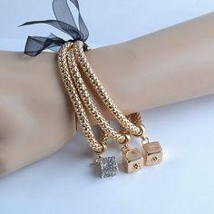 3 Piece Set Multilayer Women's Bracelet Retail – Cubes