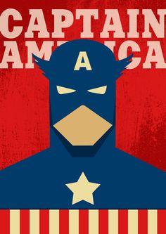 Poster Captain America / Captain America / Superhero Poster / Superhero Captain America / Captain America Print / Captain America Gift Poster Avengers, Superhero Poster, Batman Superhero, Arte Dc Comics, Marvel Comics, Superhero Gifts, Gundam Art, Hero Wallpaper, Chalk Art