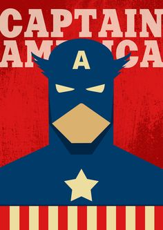 Poster Captain America / Captain America / Superhero Poster / Superhero Captain America / Captain America Print / Captain America Gift Poster Avengers, Superhero Poster, Batman Superhero, Arte Dc Comics, Marvel Comics, Superhero Gifts, Gundam Art, Hero Wallpaper, Hero Arts