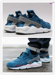 free shipping c6ba1 d4d7e Nike Air Huarache Teal Green Lake 318429-403 Outlt Black Friday YJC68H