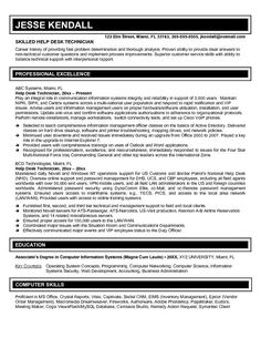 IT Help Desk Cover Letter Sample | Creative Resume Design ...