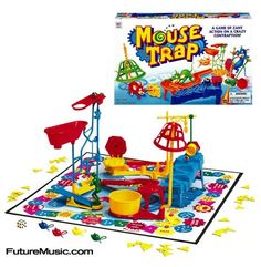 Who played mouse trap as a kid? i did but i know i played it wrong because i never understood the game lol