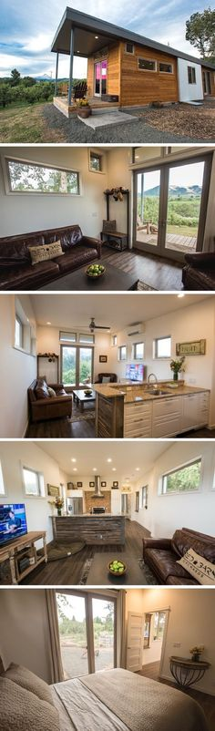 The Orchard: a 750 sq ft park model home from IdeaBox : littlelivingblog