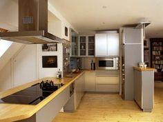 realizace-vestavba-praha5-2004-03 Kitchen Cabinets, Table, Furniture, Home Decor, Kitchen Cupboards, Homemade Home Decor, Mesas, Home Furnishings, Desk
