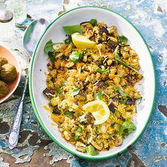 Recept - Couscous met aubergine - Allerhande
